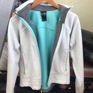 North Face Women's Full Zip Windwall Sweater